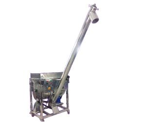 Screw Conveyor With Mixer