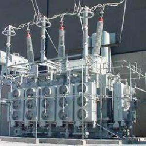 Electrical Transformer Erection