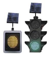 Solar Traffic Signal Lights
