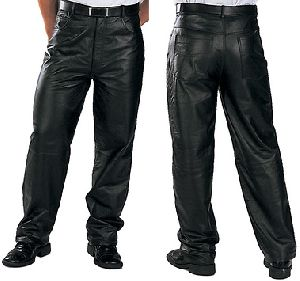 Leather Mens Pant