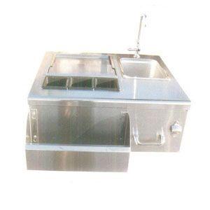 Blender Station With Sink