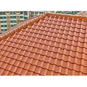 Clay Corrugated Roofing Sheets