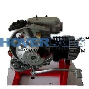 Cut Sectional Model Of 2 Stroke Engine