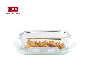 High Borosilicate Glass Food Storage Container