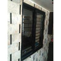 Black Aluminium Sliding Window
