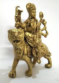 Durga Brass Statue