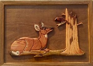 Animal Wall Wooden Paintings