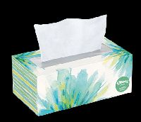 wet facial tissue