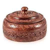 Decorative Wooden Chapati Box