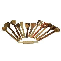 Wooden Shecaham Spoon Set