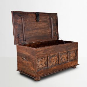Wooden Storage Trunks