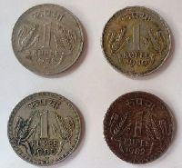 Indian Old Coins Of Rupees