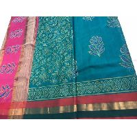 Maheshwari Silk Cotton Printed Saree