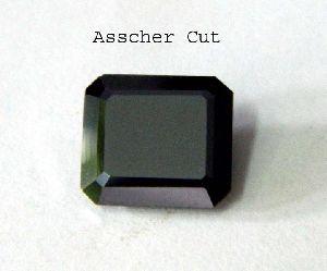 Asscher Cut Black Diamonds