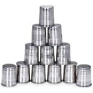 Stainless Steel Glass Set
