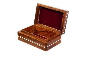 Wooden Jewelry Storage Box