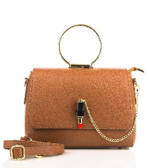 Bovory Brown Leather Handbags