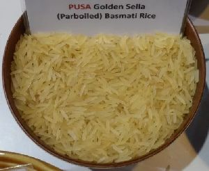Pusa Basmati Golden Sella Rice