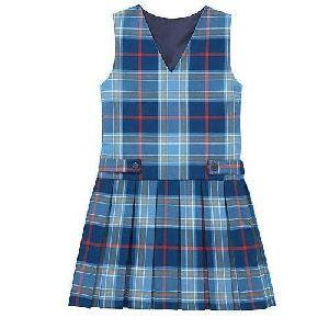 Girls School Checkered Tunic