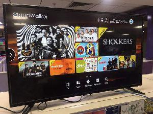 Black Cloudwalker 139cm (55 Inch) Ultra Hd (4k) Led Smart Tv (55s