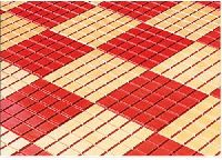 Interlocking Paver And Chequered Tiles