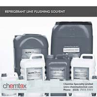 Refrigerant Line Flushing Solvent