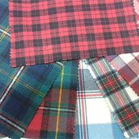 Cotton Checks Twill Fabrics