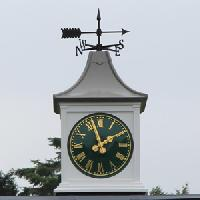 outdoor clocks such as tower clocks