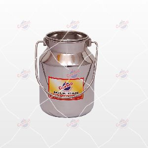 02 Ltr Cowbell Stainless Steel Milk Can