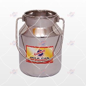 05 Ltr Cowbell Stainless Steel Milk Can
