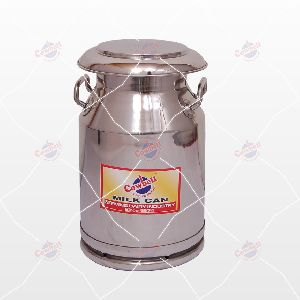 20 Ltr Cowbell Stainless Steel Milk Can
