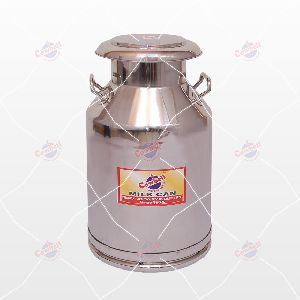 40 Ltr Cowbell Stainless Steel Milk Can