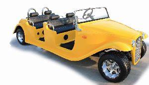 Electric Classic Car Four Seats