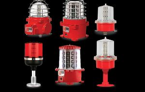 Aviation Obstruction Lights, Warning Light Bars