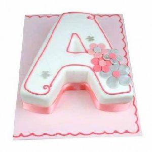 Alphabet Birthday Cake