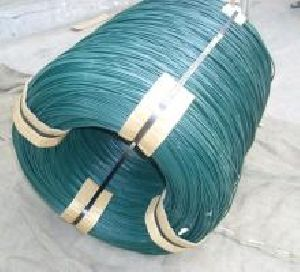 PVC COATTED WIRE - GREEN