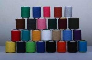 310 Denier Polyester Slub Yarns