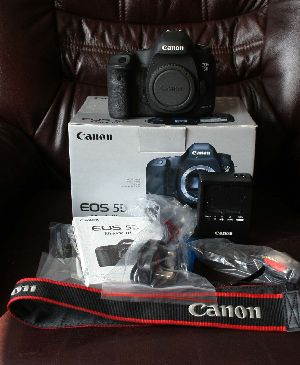 Canon Eos 5d Mark Iii 22.3mp Digital Slr Camera - Black