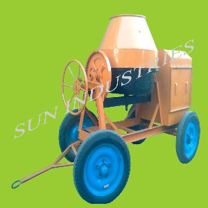 Concrete Mixer Without Hooper Full Bag