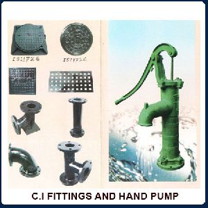 Ci Fittings And Hand Pump