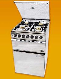 Ss Body Four Burner Cooking Range With Glass Top
