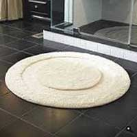 Round Shaped Bath Mat