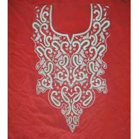 Hand Embroidery Suit Dupatta