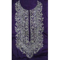 Semi Crepe Hand Embroidery Salwar Kameez