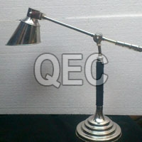 Bent Shiny Table Lamp