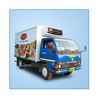 Refrigerated Delivery Van