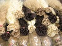Indian Human Hair Bleched Colour