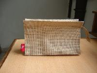cosmetic jute pouch bag