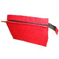 red pouch bag