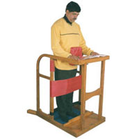 Stand-in-frame, Adult (wooden):